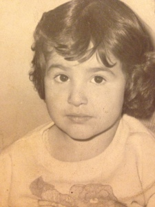 Angelica at 4 years old.